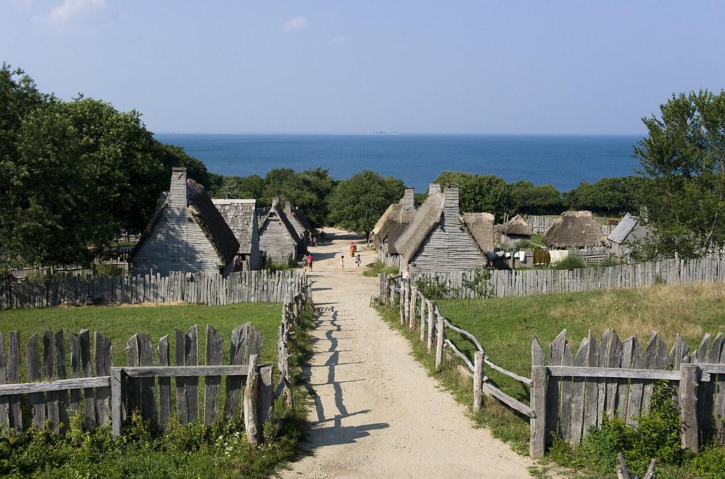 Pilgrim settlement | Reizigerin | Flickr