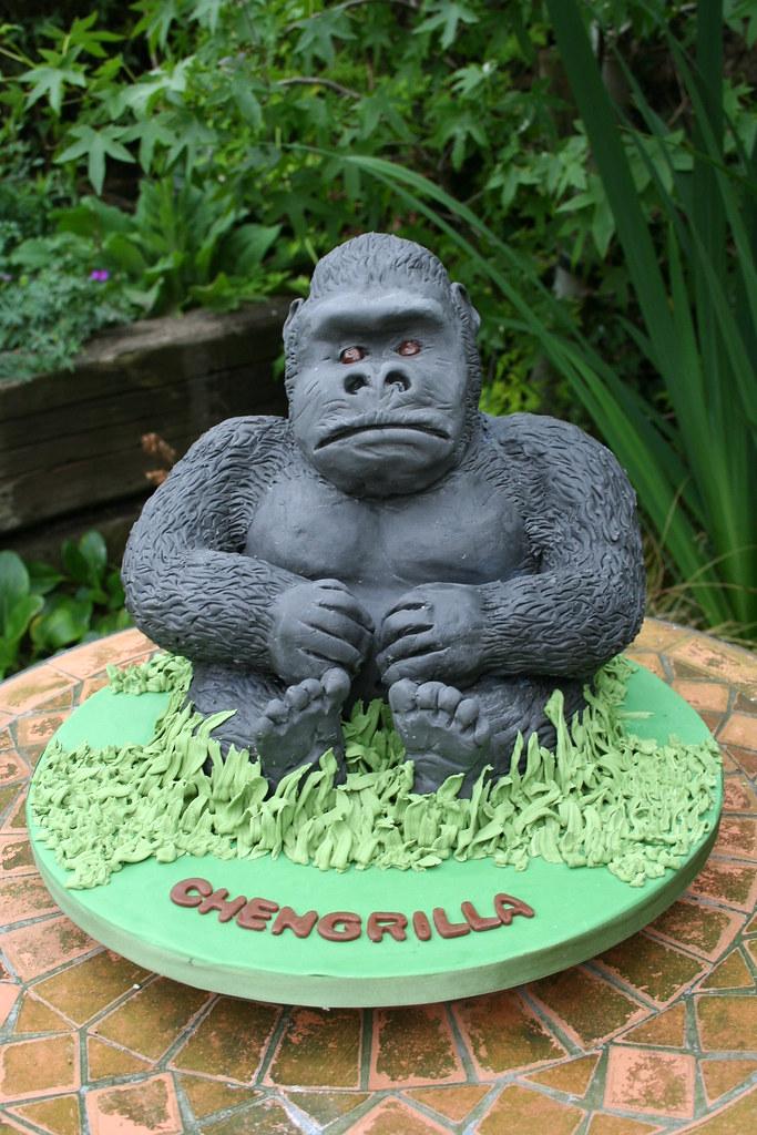 Gorilla Cake Chengrilla Sophie Matthews Flickr