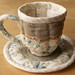 Quilted Teacup & Saucer 2