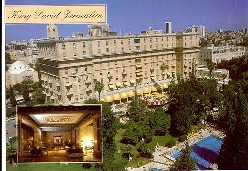 Jerusalem Israel King David Hotel Jewish Scan1501 King