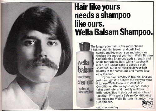 Wella Balsam Shampoo Retro Ad A Groovy Vintage Retro Ad