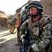 A Soldier From 1 Royal Irish on Patrol in Afghanistan