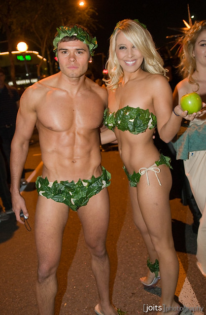 A Very Fit Adam And Eve  Flickr - Photo Sharing-8997