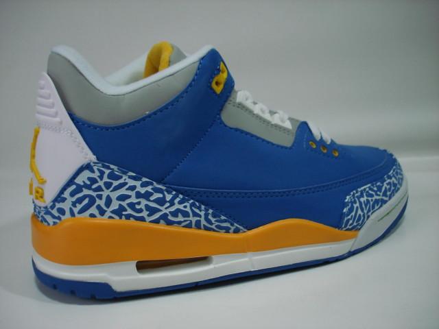 Air Jordan 3 Blue Yellow