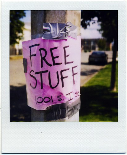 Free Stuff | by sparkrobot