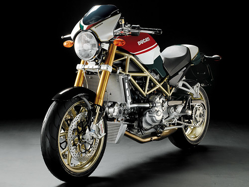 Ducati Monster S4RS Testastretta Tricolore | by Alessandro lord Zarcone