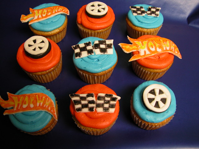 Hot Wheel Cupcakes | Flickr - Photo Sharing!
