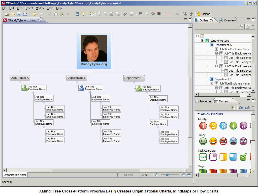 Xmind free program easily creates organizational charts flickr xmind free program easily creates organizational charts mind maps and flow charts online nvjuhfo Image collections
