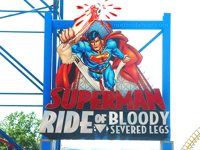 girl u0026 39 s feet severed on superman ride