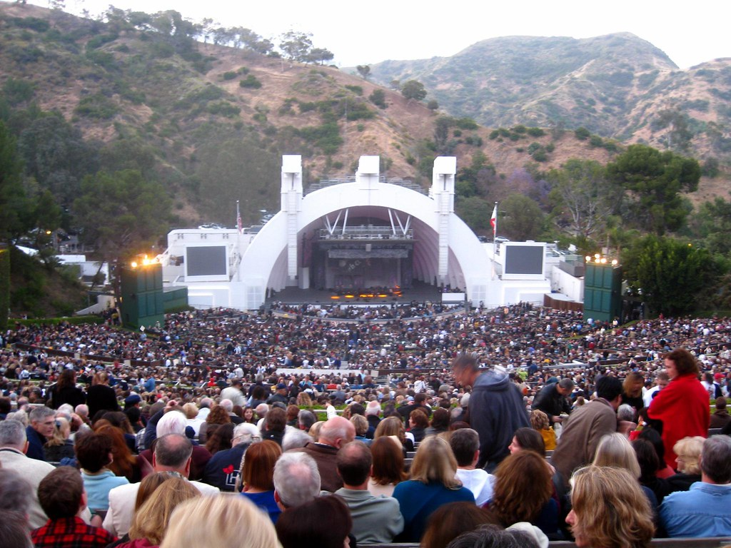 Hollywood Bowl Before James Taylor And Carole King Took
