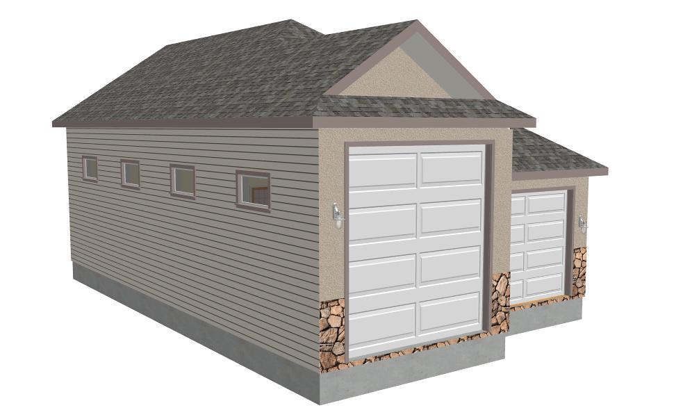 Download Rv Garage Plans G355 30 X 48 X 14 Detached Rv G