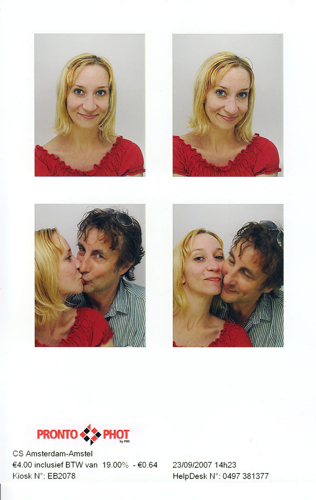 old fashioned booth photos | modern love | Rachelle Meyer | Flickr