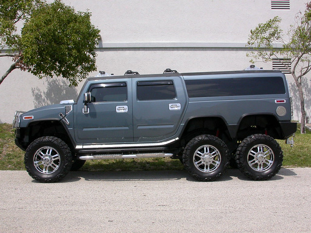 2005 Hummer H6 Players Edition Limo Lift Kit H2 Rollen40 Flickr