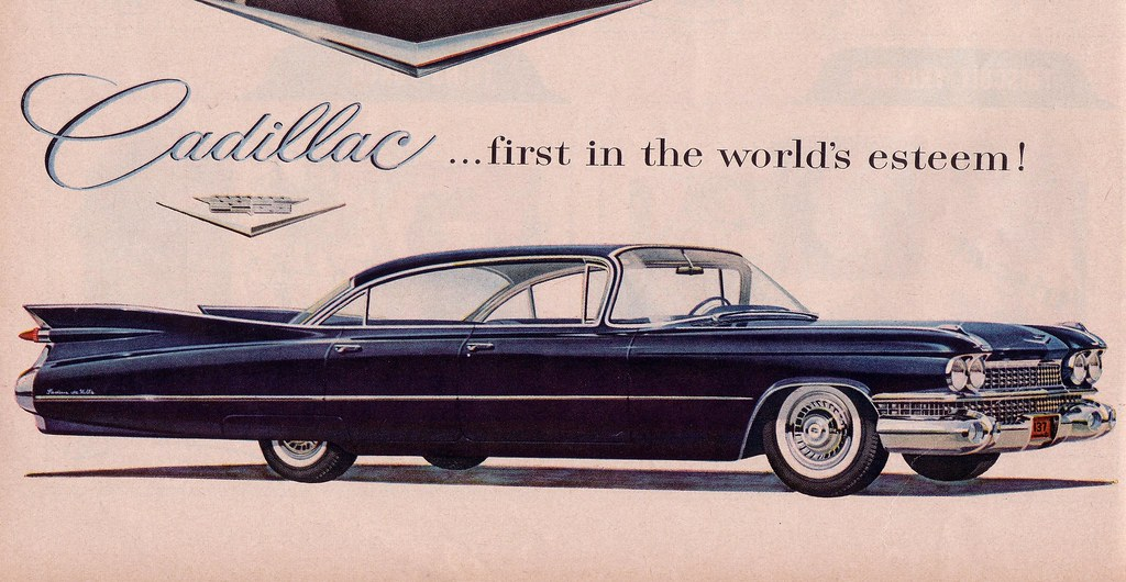 It S 1959 Cadillac Sedan Deville Life Magazine Ad