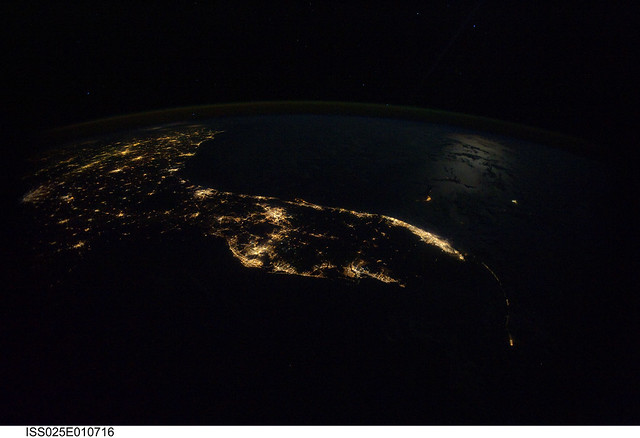 Flickr photo sharing for Space station florida