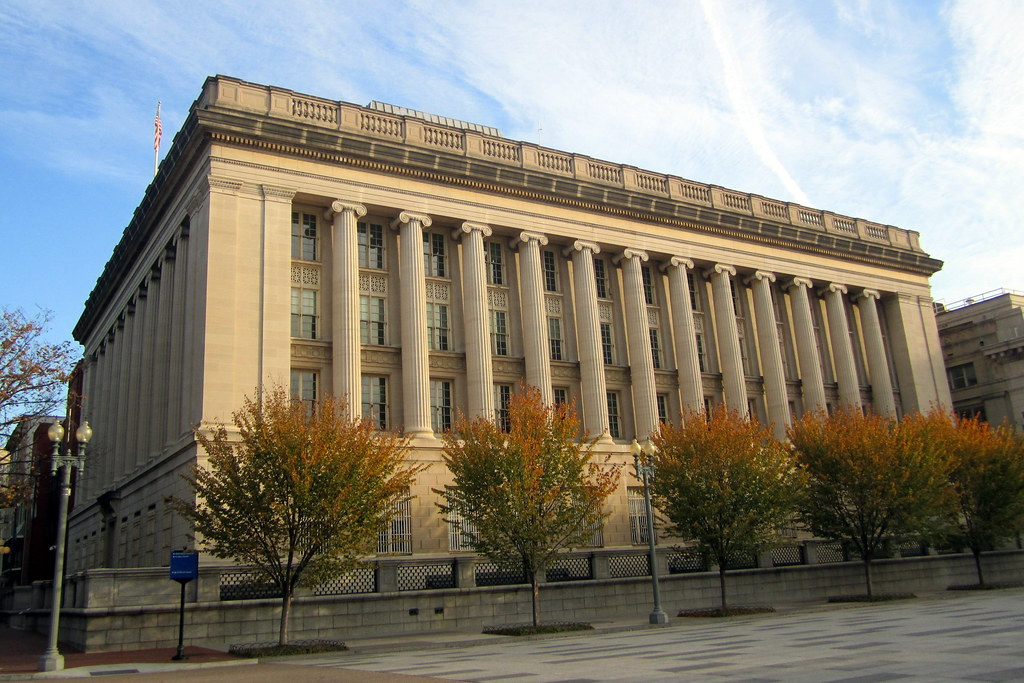 Washington Dc Treasury Annex The Treasury Annex