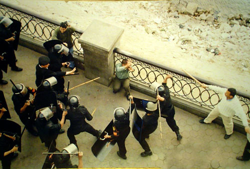 police brutality in egypt photo by matthew carrington