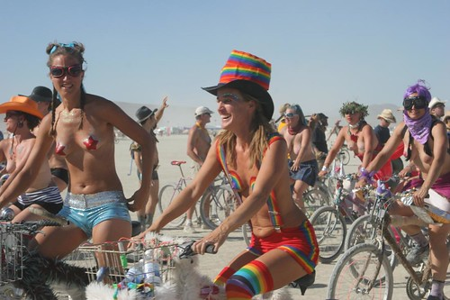 The People of Burning Man - Critical Tits