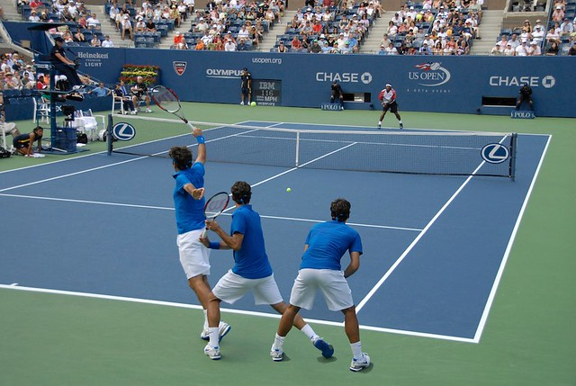 how to play tennis step by step