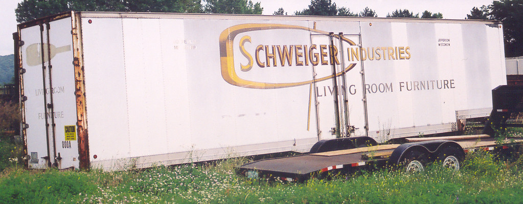 436 28 7 04 La Crosse Wi Old Schweiger Industries Trailer Flickr