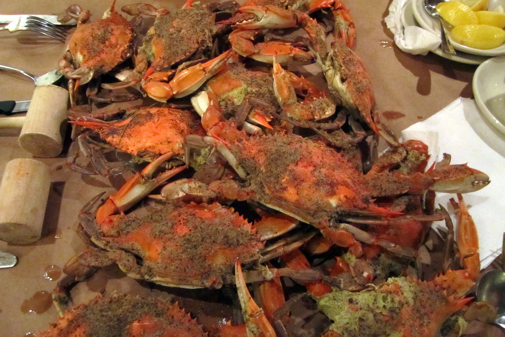 Baltimore Fells Point Obrycki S Crab House Blue Claw