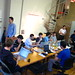 The crew at last night's facebook developers hackathon at Iridesco's offices