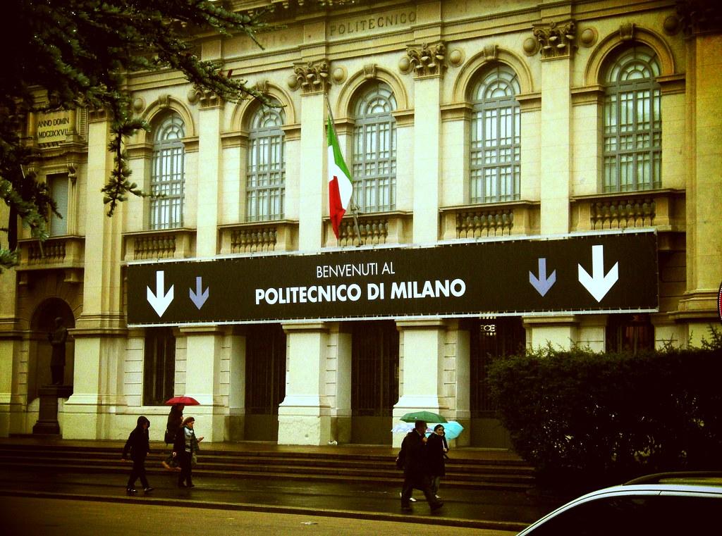 Politecnico di milano la sede storica in piazza leonardo for Architettura politecnico di milano