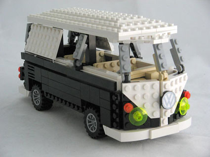 vw lego camper front gumby mac72 flickr. Black Bedroom Furniture Sets. Home Design Ideas