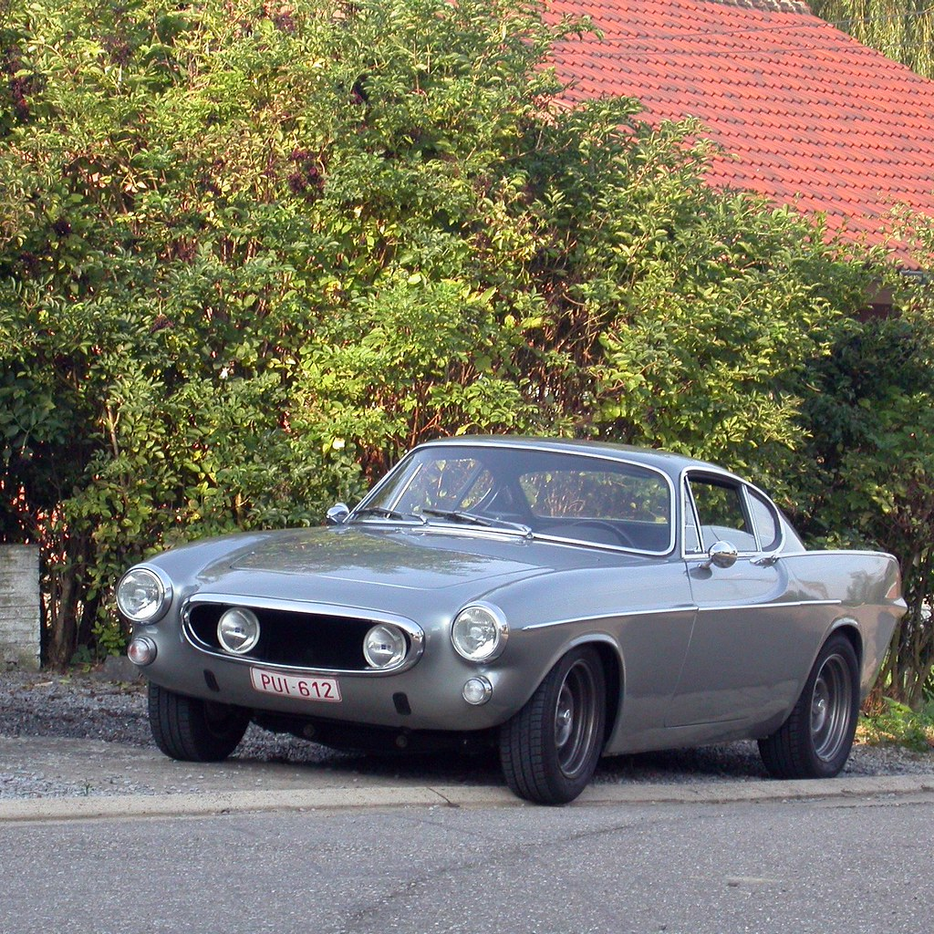 Volvo P1800 Custom | I usually don't like tuning... adding s… | Flickr