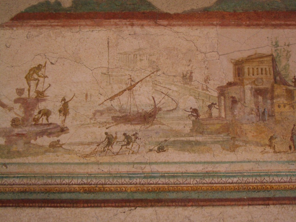 Roman Wall Painting Third Style