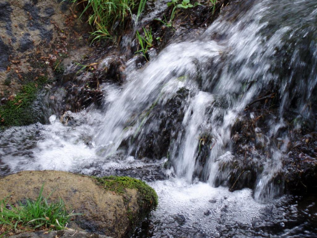 Fox House Derbyshire Waterfall Near Fox House