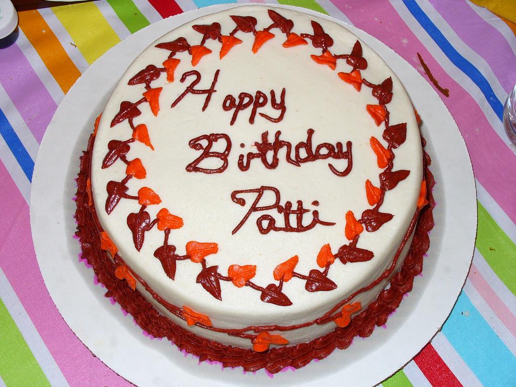 Pattie Birthday Cake Images