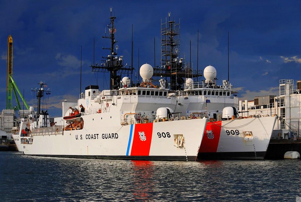 U S Coast Guard Buoy Tender Building Roland Roofing