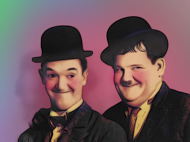 Color Me - Laurel and Hardy | 062407 - side ~This is photo m… | Flickr