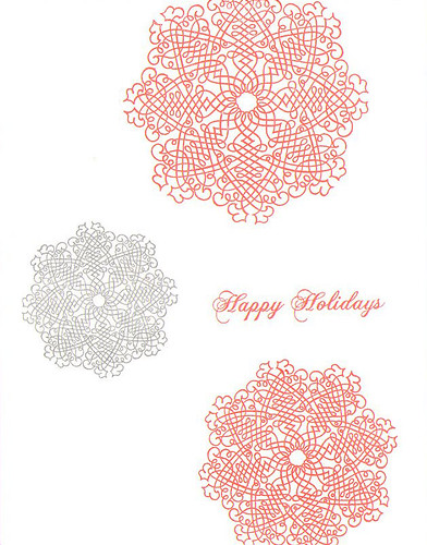Holiday Card - set of 5 | by Sarah Parrott