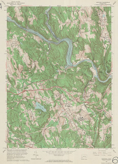 Newtown Quadrangle 1963 - USGS Topographic Map 1:24,000 | by uconnlibrariesmagic