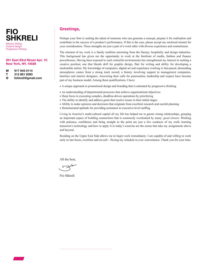 fio shkreli cover letter design sample fsdexign flickr