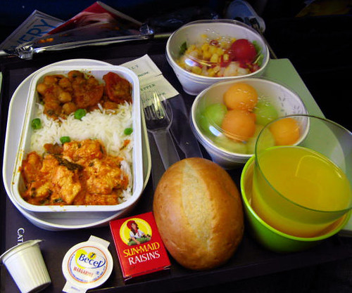 Cathay Pacific Indian Food