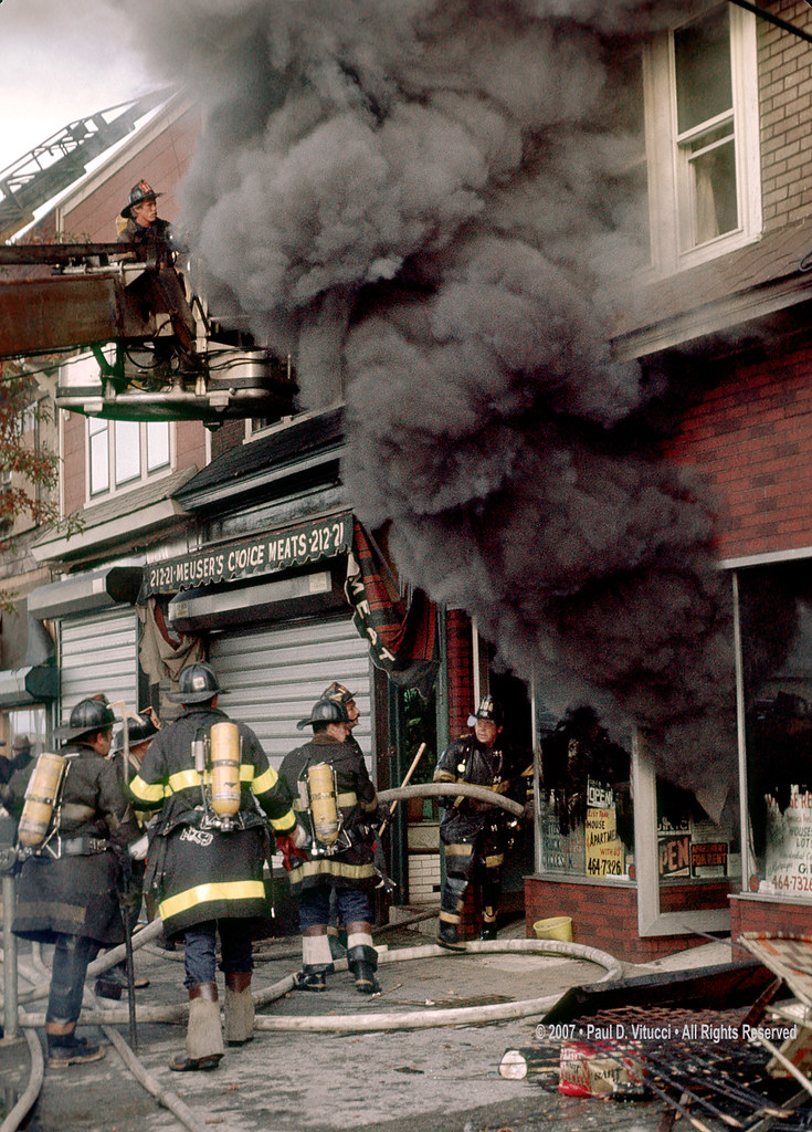 Heavy Smoke | Vintage FDNY 1980 Jamaica Ave, and 212 ...