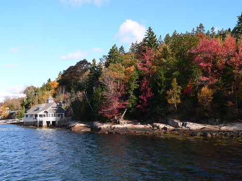 Fall Colors at Seal Harbor, Maine | by Lee Edwin Coursey