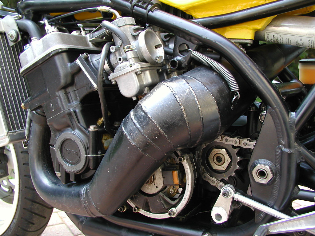 Rebuilt Engine For A R  Stroke Yamaha Motorcycle