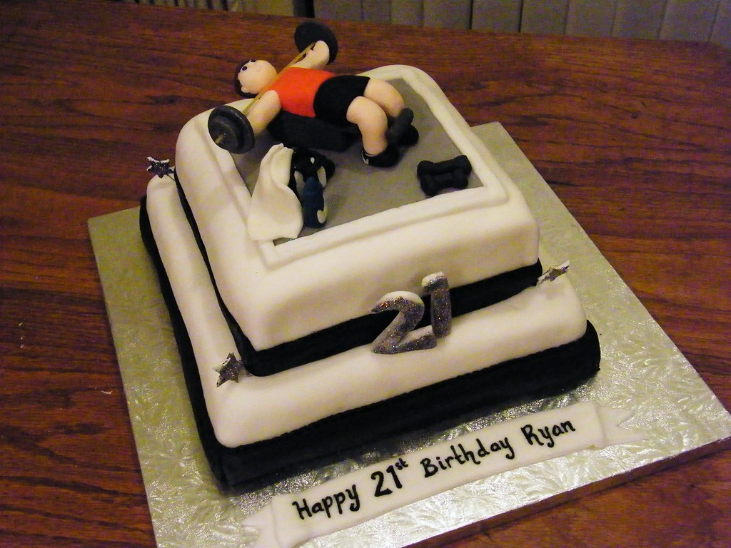 Images Of Gym Cake : Weights gym cake Eldriva Flickr