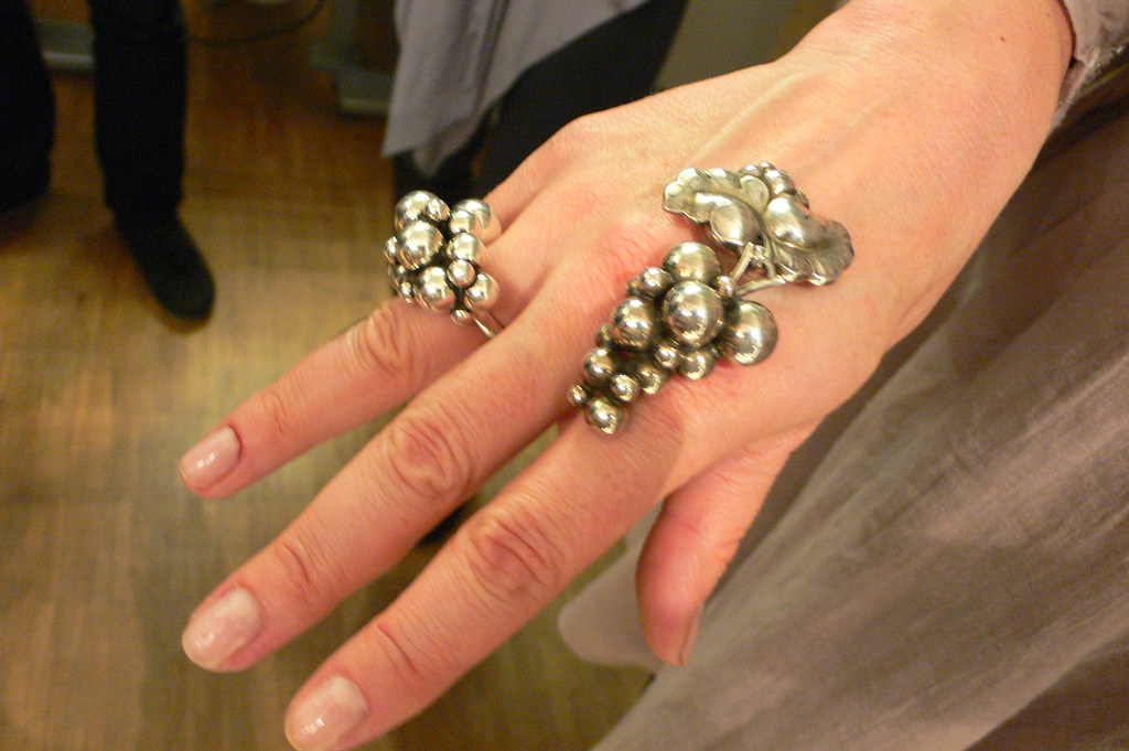 Georg Jensen Ring In Copenhagen This Photo Links To My