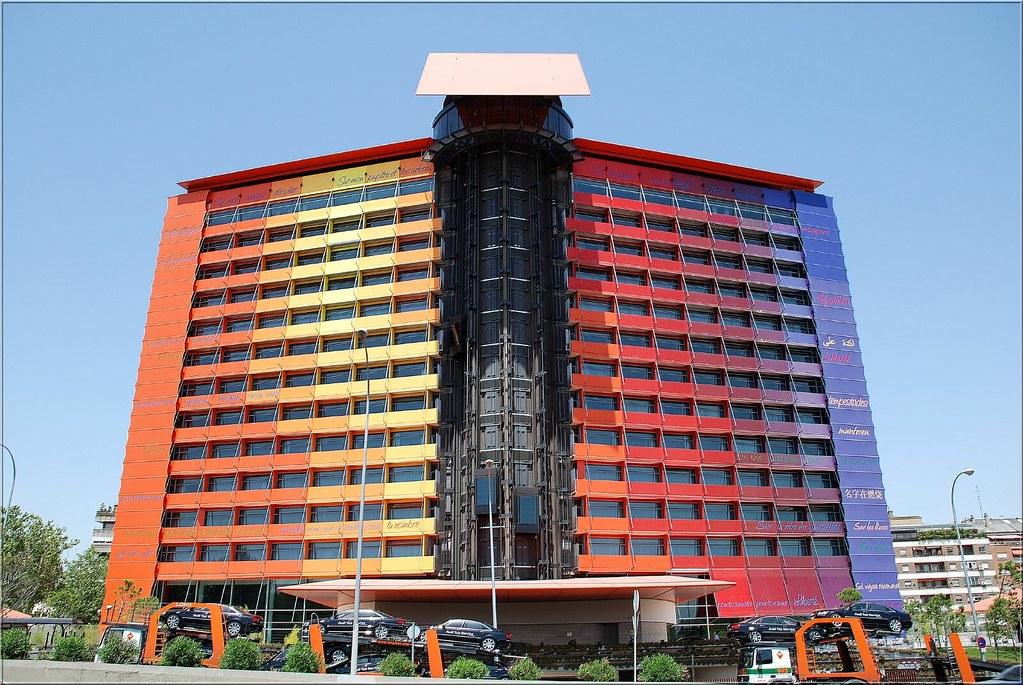 Hotel puerta de america madrid spain muestra de for Hotel puerta america
