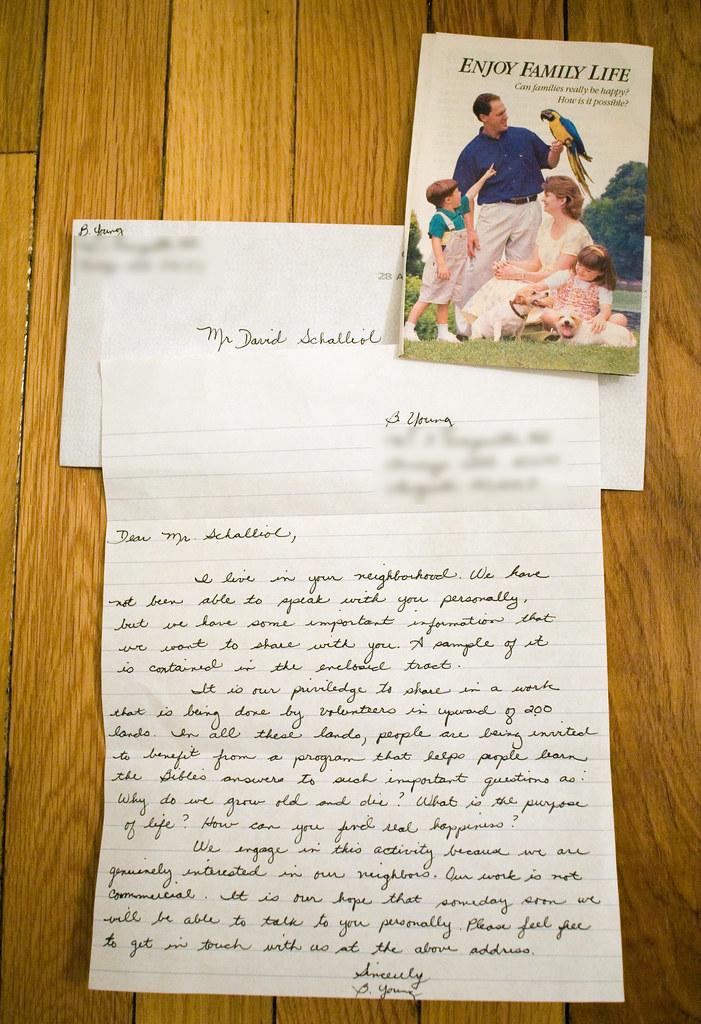 Letter writing help online jw
