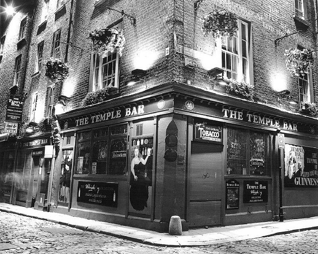 Temple bar corner temple bar dublin by philpankov com