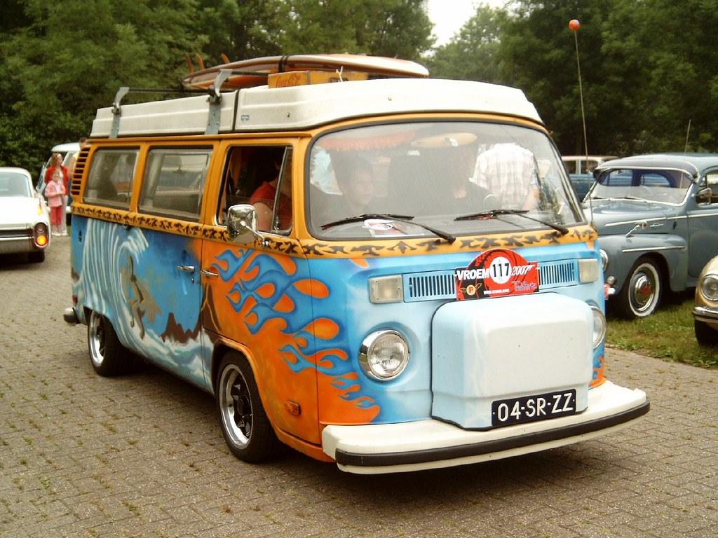Hippy Car Paint