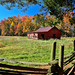 Barn & Pasture in Fall