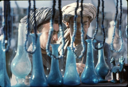 blue glass Kabul | by Wendy Tanner