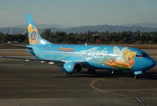 Alaska Airlines Tinkerbell 737 Flickr Photo Sharing